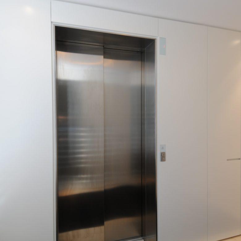 Polyurethane paneling around lift