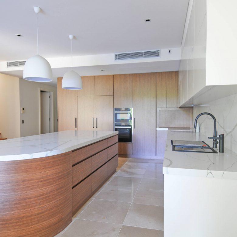 Premium kitchen renovation using several premium materials