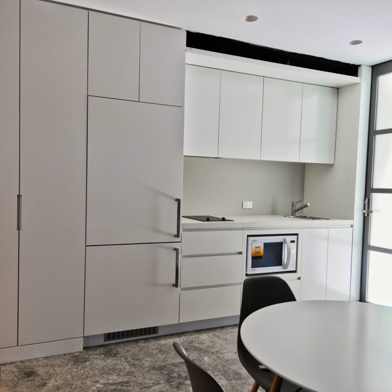 Custom designed built kitchenette