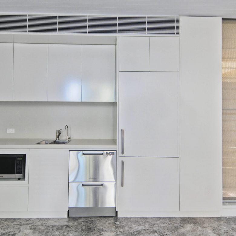 Custom designed built kitchenette