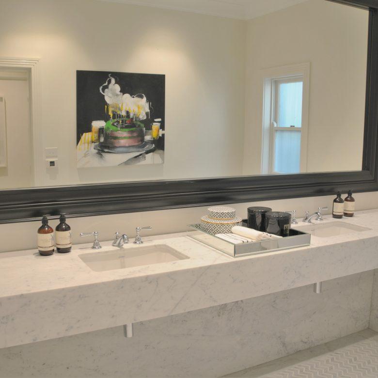 Marble Clad Bathroom