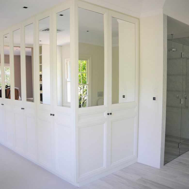Walk in Wardrobe and Ensuite Joinery